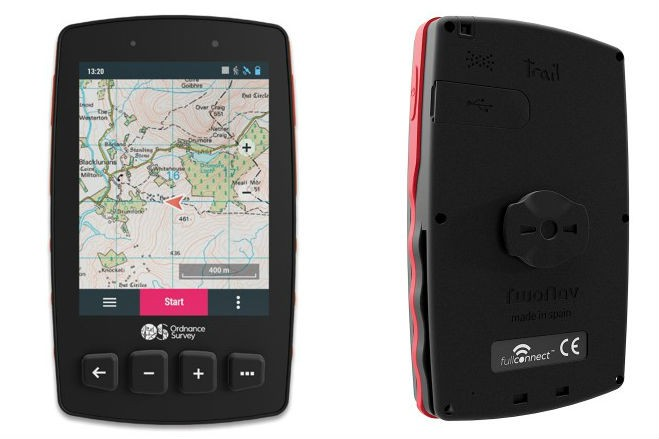 Ordnance Survey Trail 2 Bike GPS offers full UK-wide 1:50k maps and an in-built SIM for £399