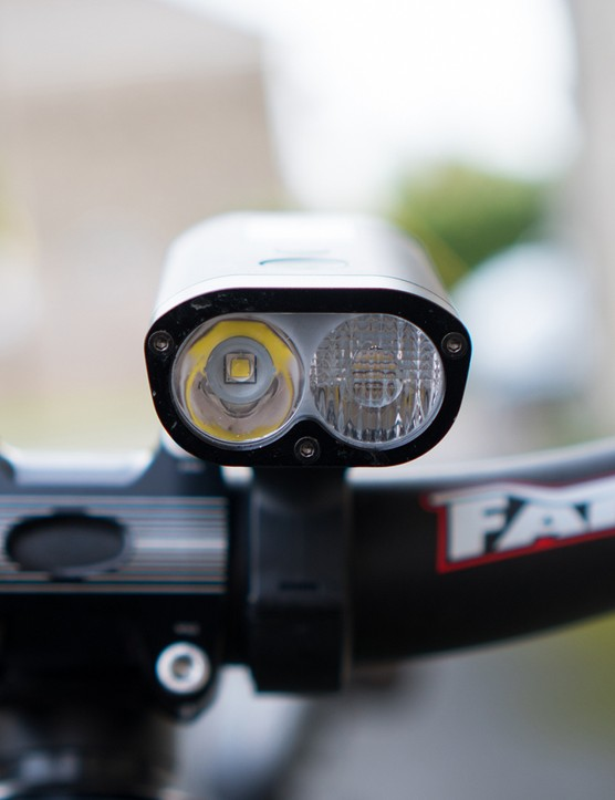 twin led front light for mountain bike