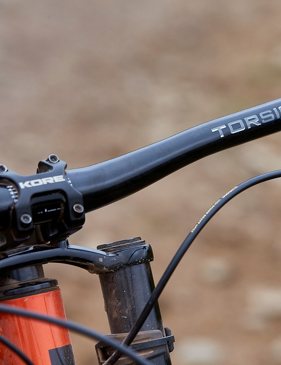 Kore Torsion bar on saracen full suspension mountain bike