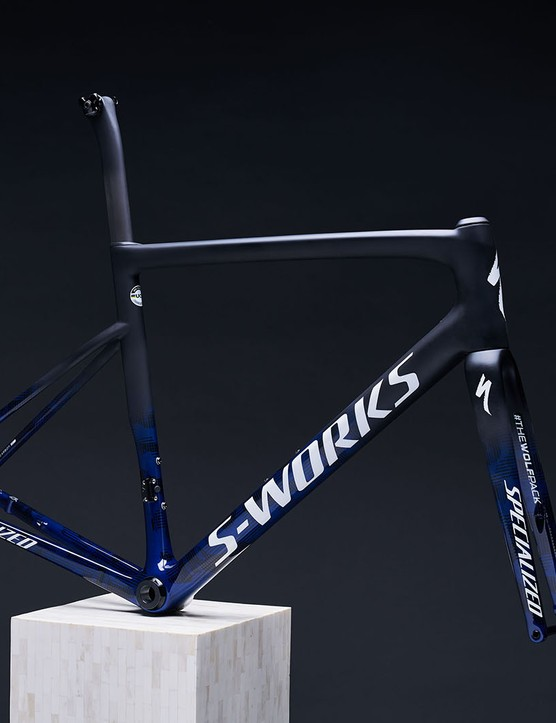 Specialized limited-edition version of its S-Works Tarmac Disc frameset