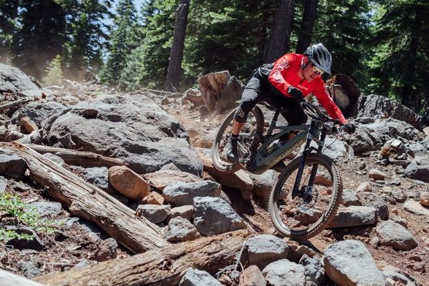 Kenevo ridden in rocks
