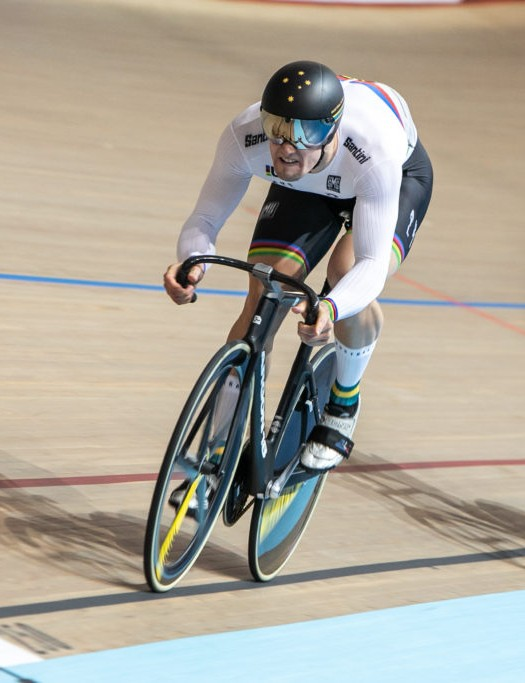 The Argon 18 Sprint Stem in use on the track