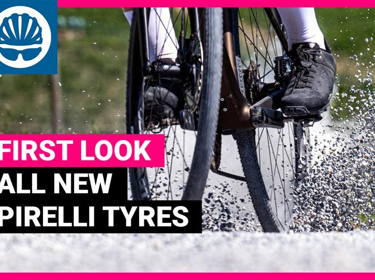 New gravel and MTB tyres from Pirelli's 2020 range