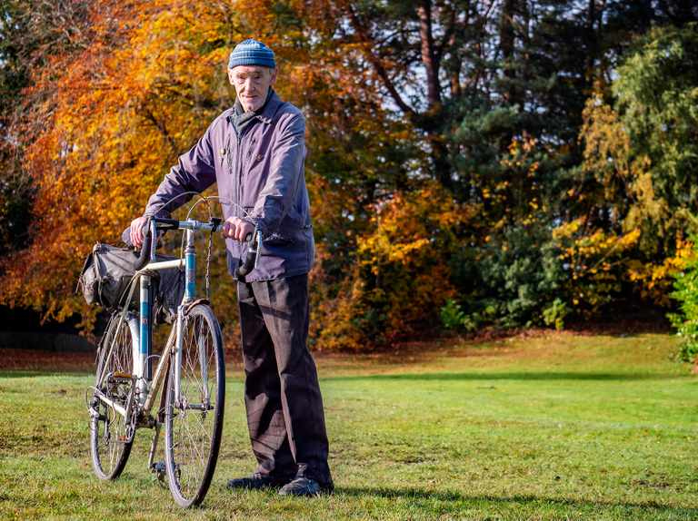 82-year-old is the first Brit to cycle a million miles
