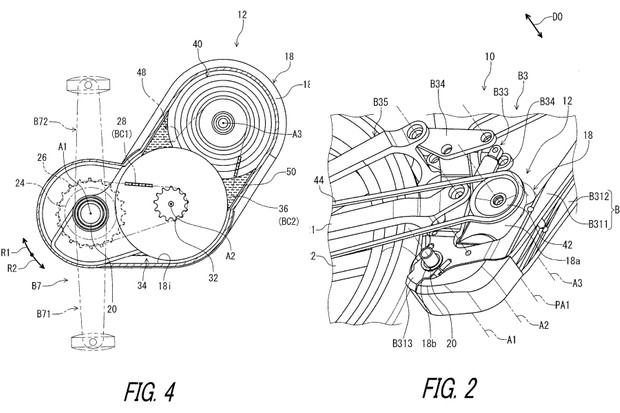Figures 2 and 4 from Patent US 2019 / 0011037 A1