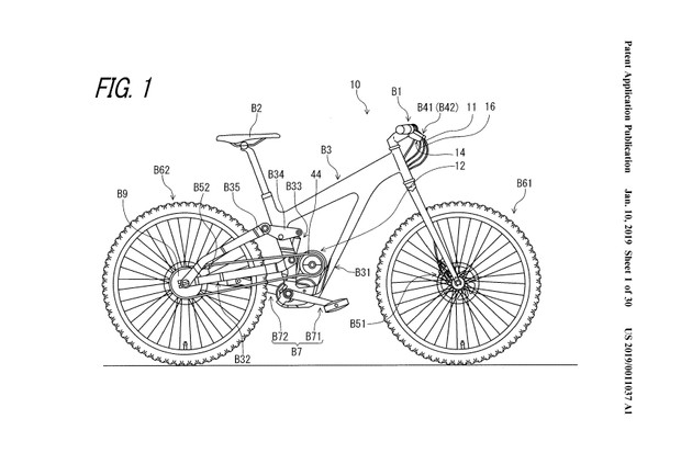 Fig 1 from Patent US 2019 / 0011037 A1