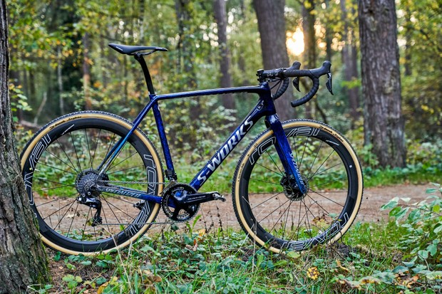 Zdenek Stybar's custom Specialized S-Works Crux