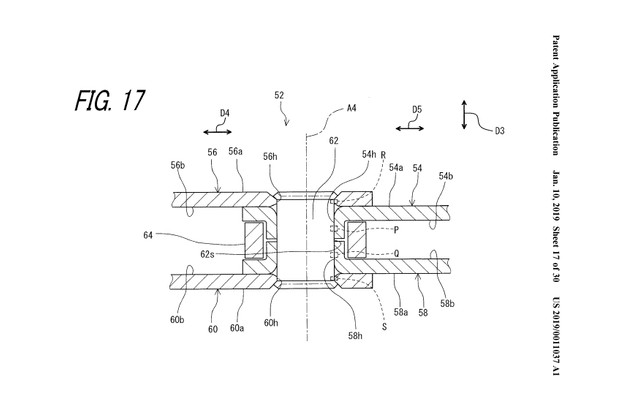 Fig 17 from Patent US 2019 / 0011037 A1