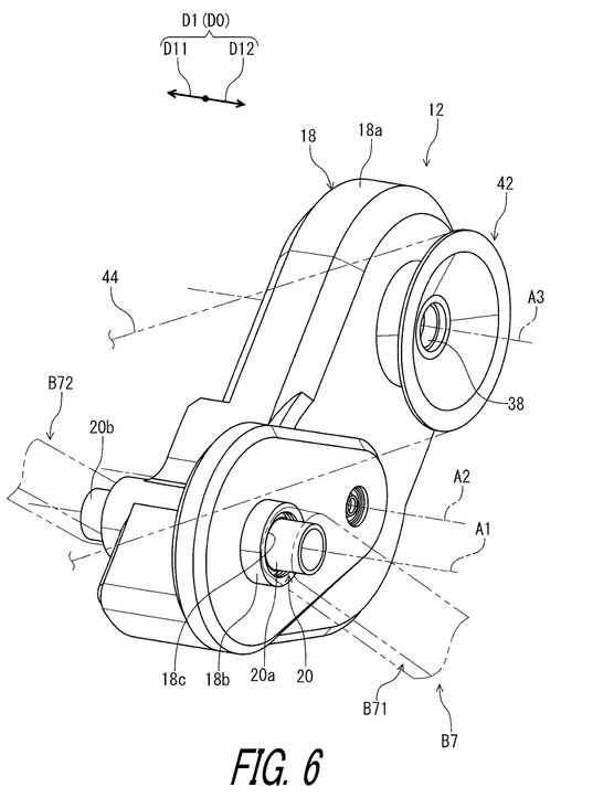 Fig 6 from Patent US 2019 / 0011037 A1