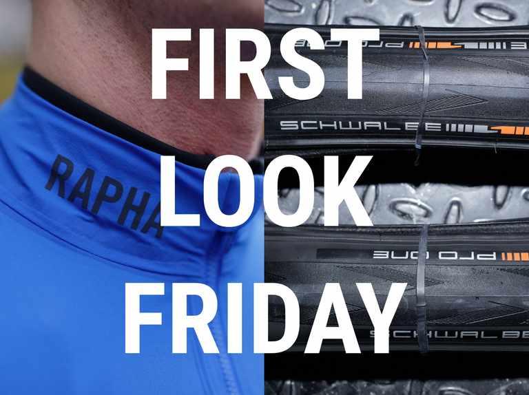 A new Rapha jacket, Schwalbe tyres, MET helmet and a novel on-bike storage solution