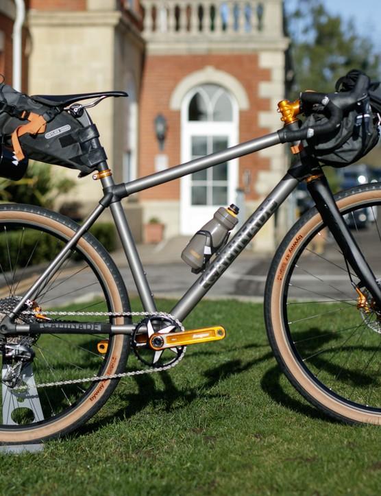 Caminade AllRoad Titanium gravel bike