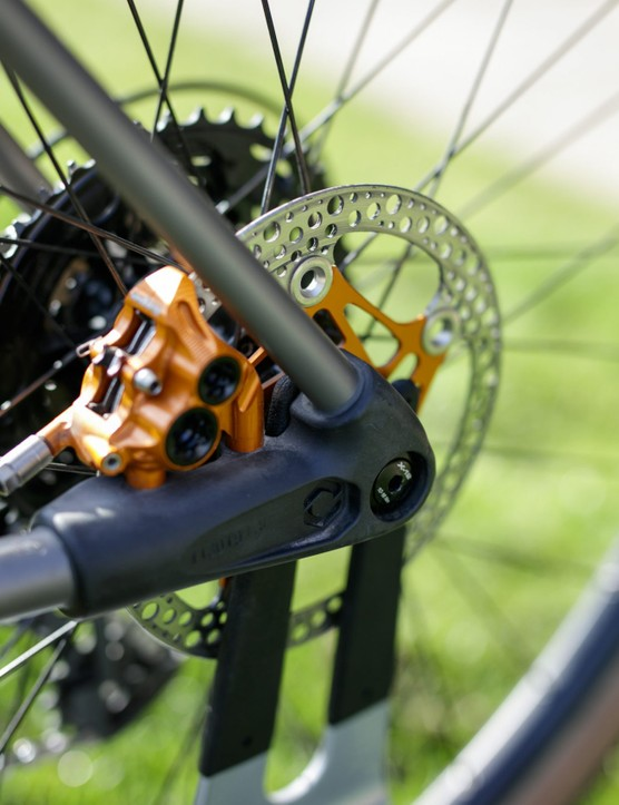 Caminade AllRoad Titanium gravel bike rear dropout