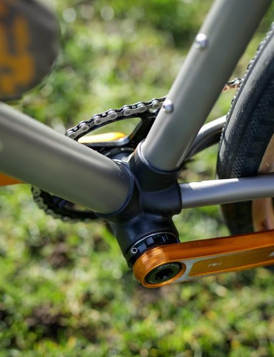 Caminade AllRoad Titanium gravel bike bottom bracket