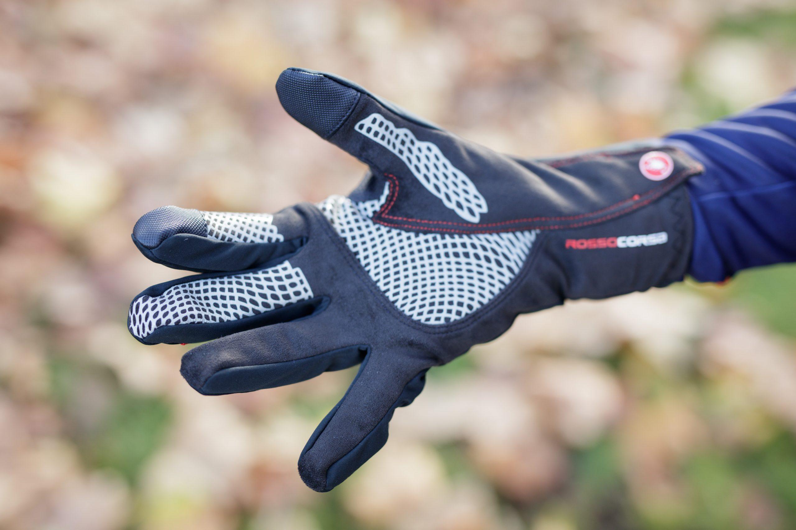New Castelli CX Long Finger Men/'s Gloves for Road Mountain Bike Various Sizes