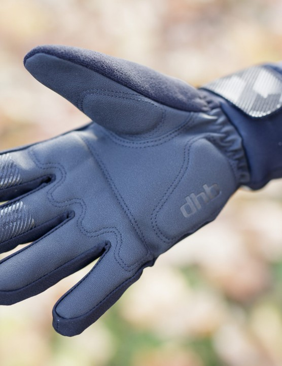 Synthetic leather palm of glove
