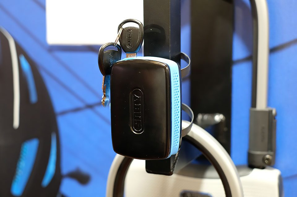 ABUS Alarmbox black and blue