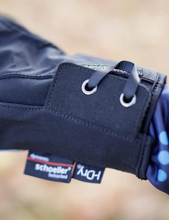 Cuff of glove