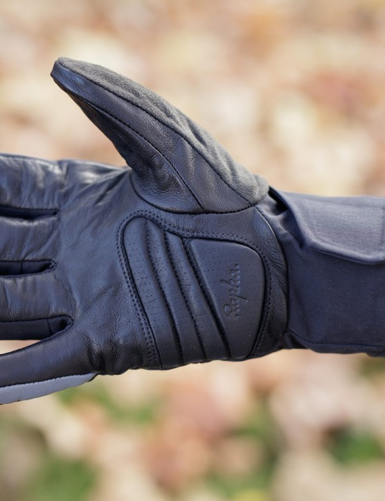 Leather palm of glove