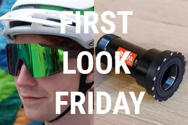 A press fit fix, shiny Scott sunglasses, Shimano shoes and Merino gravel kit