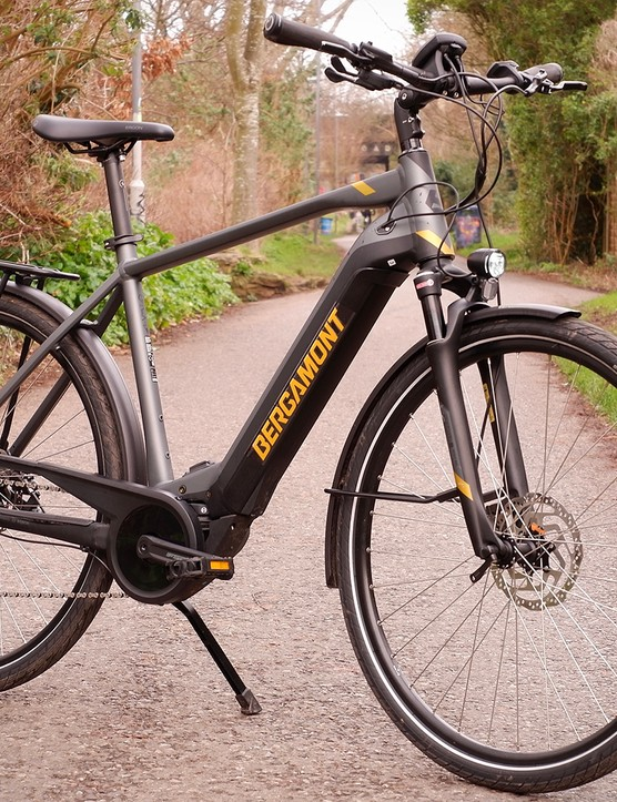 Bergamont E-Horizon Expert 600 Gent, e-bike road bike for commuting