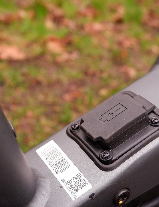 Charge point for the Bergamont E-Horizon Expert 600 Gent