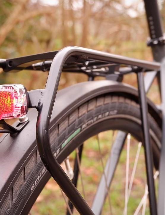 rear light on Bergamont electric commuter bike