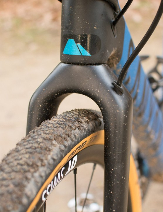 Front tyre clearance in Grail fork
