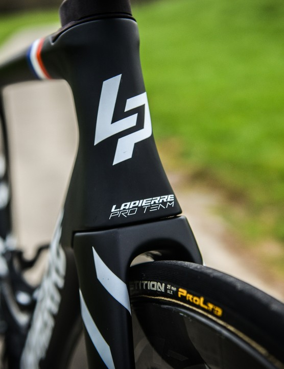 Lapierre Aircode DRS tyre clearance