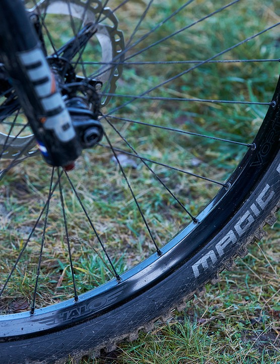 Schwalbe Magic Mary tyre on Halo Vortex wheels