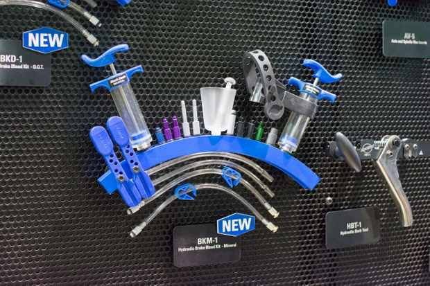 Keep bleeding, keep keep bleeding your brakes with Park Tool's new service kits