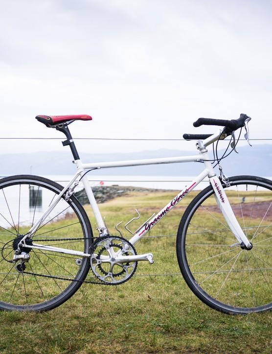 Graeme Obree road bike Portavadie