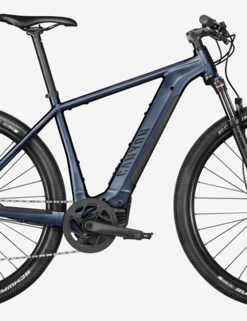 Canyon Pathlite:ON 5.0 electric trekking bike