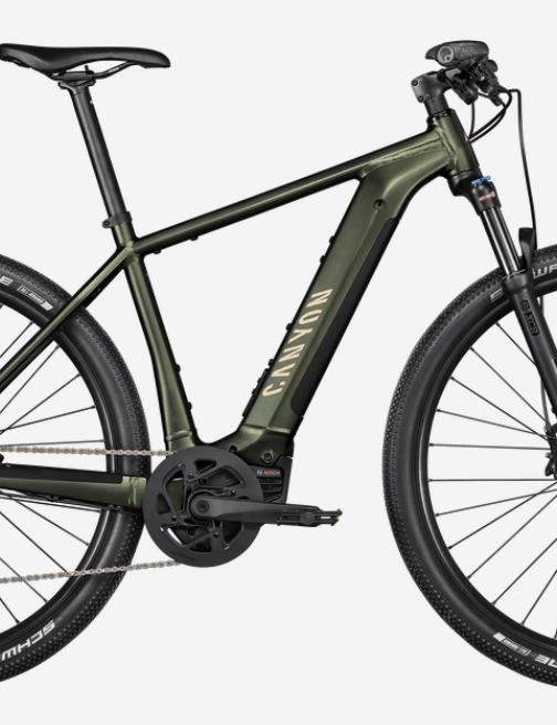 Canyon Pathlite:ON 6.0 electric trekking bike