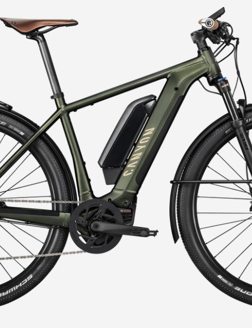 Canyon Pathlite:ON 9.0 electric trekking bike