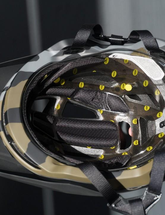 MIPS liner in helmet