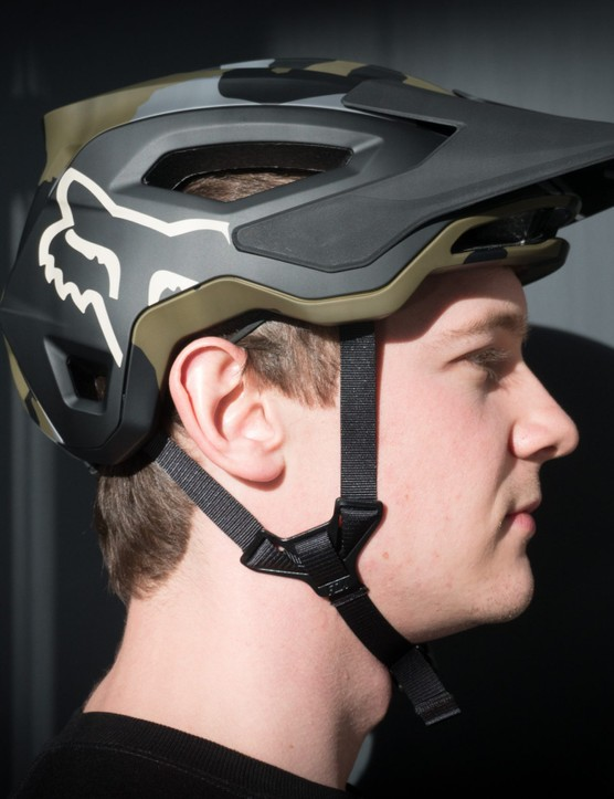 Fox's new Speedframe Pro helmet.