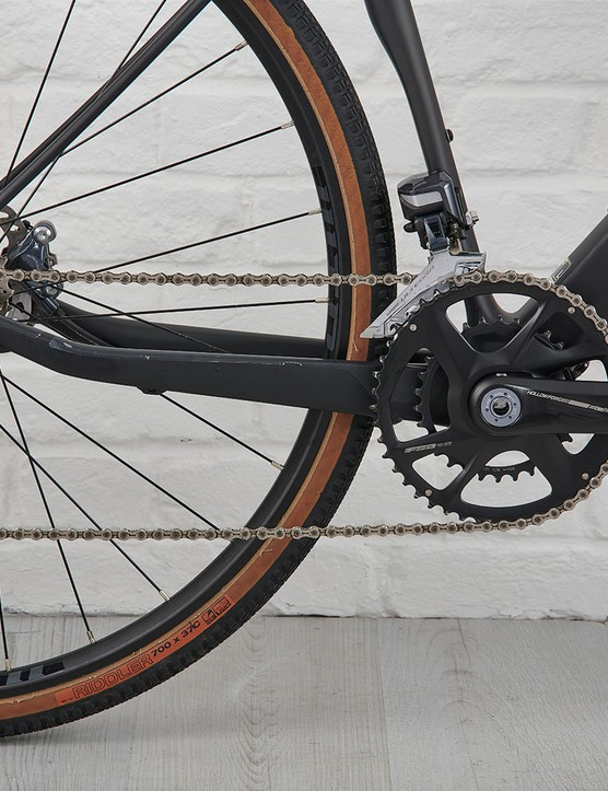 Shimano drivetrain with FSA Energy Modular Adventure cranks