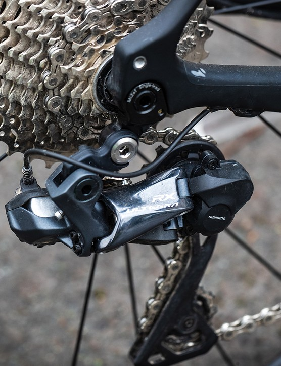 Shimano Ultegra RX 805 Di2 rear mech on the Grade Carbon Pro