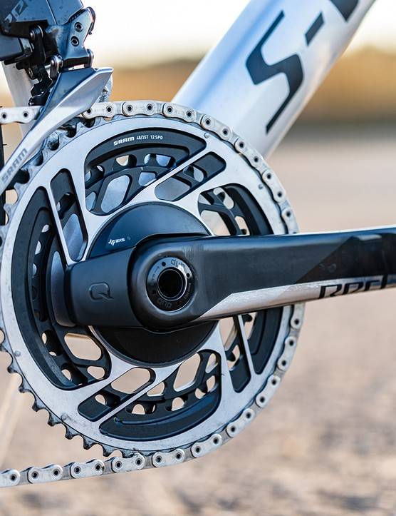 SRAM RED AXS Power Meter chainset on the Specialized S-Works Venge road bike