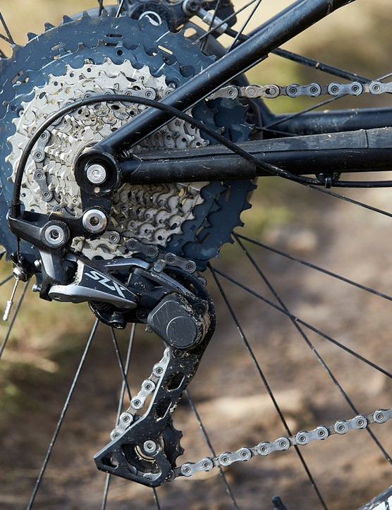 Shimano SLX Drivetrain on full suspension mountain bike