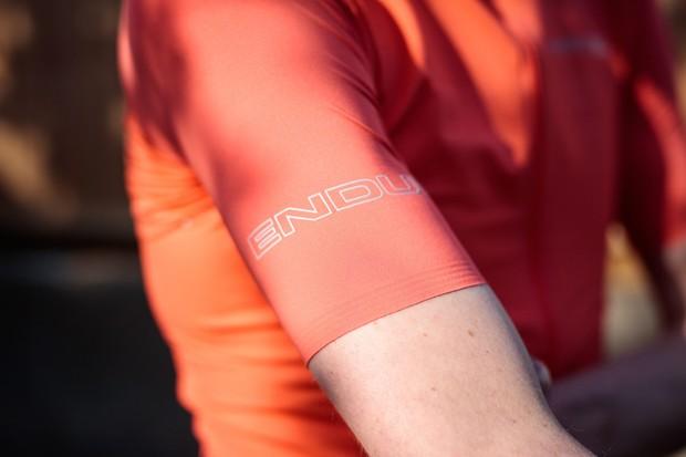 Endura Pro SL S/S Jersey II sleeve detail