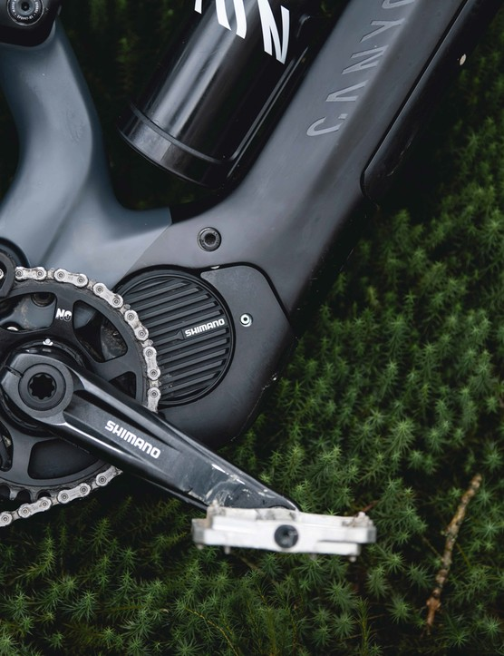 Canyon Spectral:On full-suspension electric bike with Bosch motor and battery