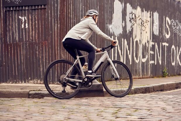 Canyon Roadlite:On hybrid electric bike