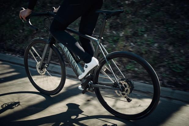 Canyon Endurace:On electric road bike