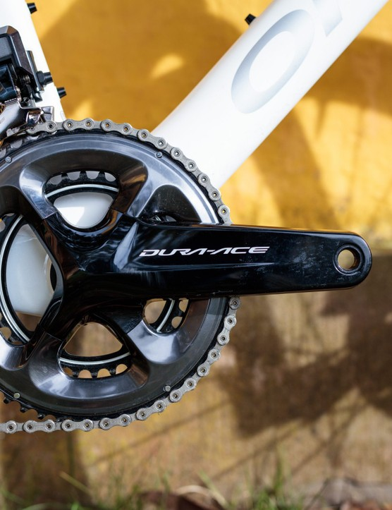 Bike of the Week | Orbea Orca OMX, Shimano Dura-Ace Di2 groupset, chainset