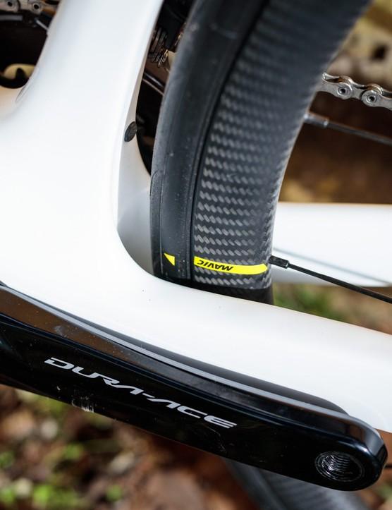 Bike of the Week | Orbea Orca OMX tyre clearance