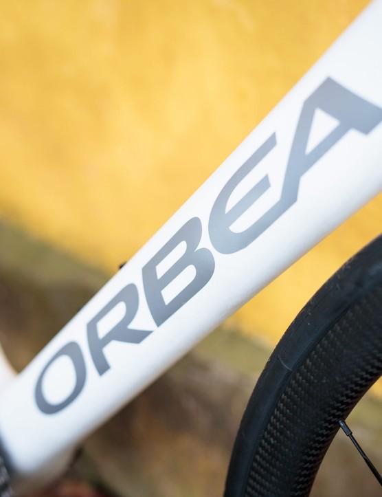 Bike of the Week | Orbea Orca OMX down tube