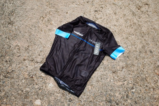 Le Col x Wahoo Indoor Training jersey front