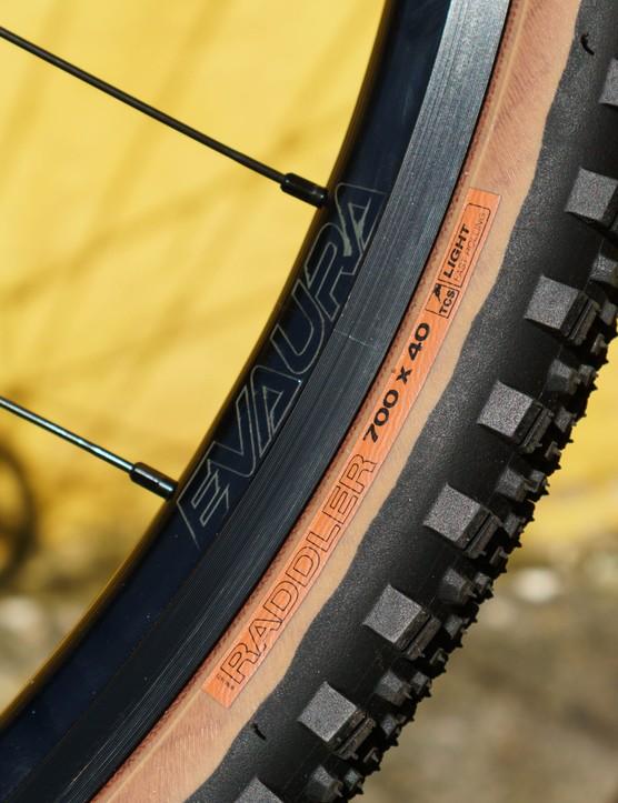 WTB Raddler tyres