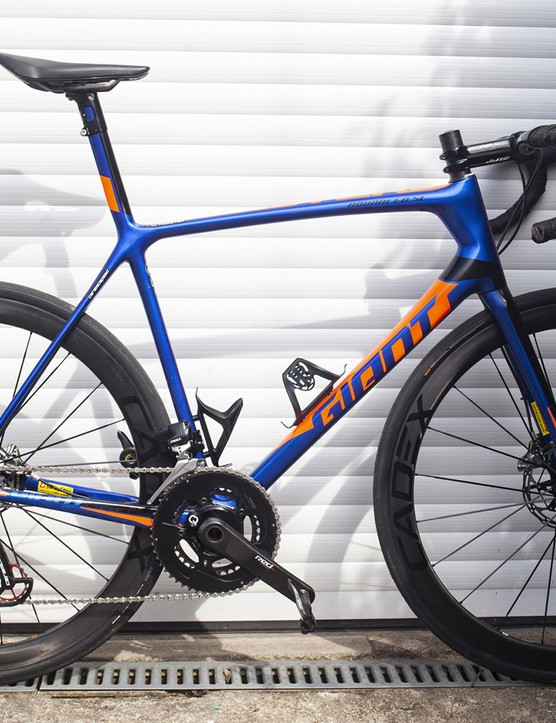 The 2020 version of the Giant TCR Advanced SL